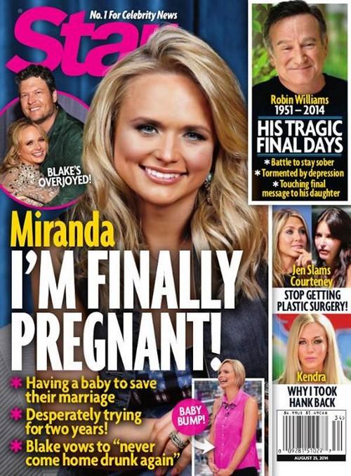 Miranda Lambert Pregnant With First Child - Blake Shelton Wants a Baby? (PHOTO)