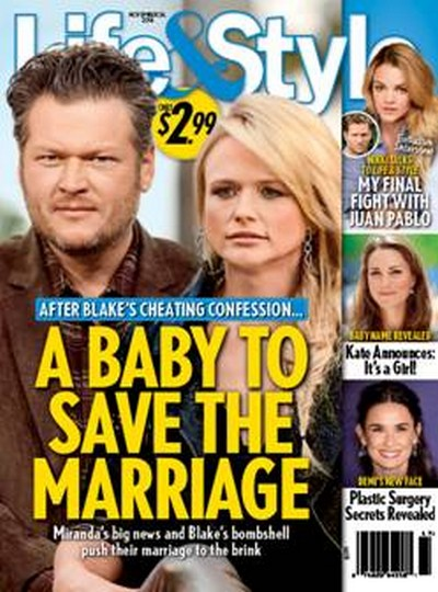 Miranda Lambert Pregnant With Blake Shelton: Tries to Save Marriage After Cheating Confession with Baby News? (PHOTO)