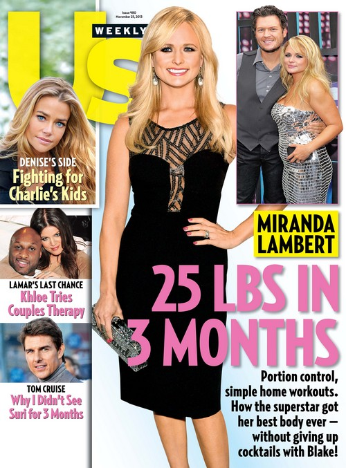 Miranda Lambert Massive Weight Loss, Loses 25 Pounds In Three Months (PHOTO)