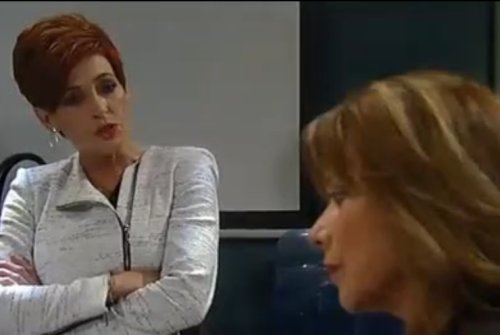 General Hospital Spoilers: Scarecrow Revealed - Jax Begs Carly To Run Away With Him - Tracy Shocks Laura - Ned Threatens Samira