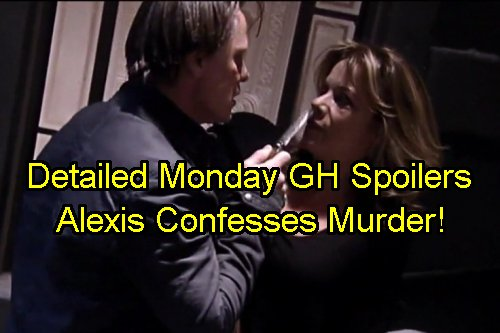 General Hospital Spoilers: Monday January 9 – Alexis Confesses Tom Murder to Julian – JaSam Baby Sex Reveal - Rudge Orders Hit