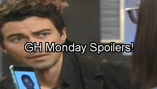 General Hospital Spoilers: Nathan Races To Save Maxie From Fiery Death - Dante Finds Morgan Death Proof - Anna's Valentin Dirt