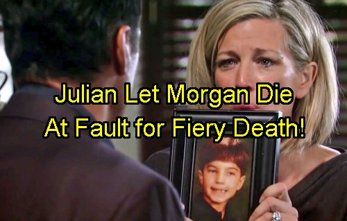 'General Hospital' Spoilers: Julian Let Morgan Die - Knew Sonny Corinthos Son Stole Car Rigged to Explode