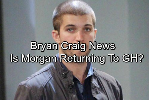 General Hospital Spoilers: Bryan Craig News – Morgan Coming Back to GH? Desperate for Role in Mark Wahlberg Movie