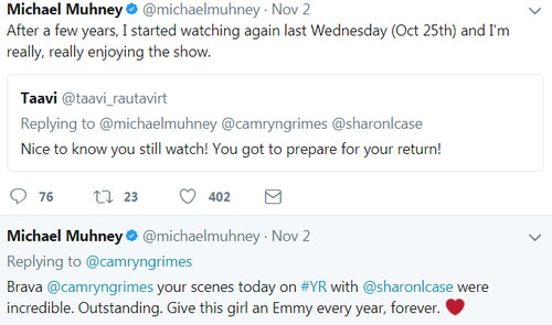 The Young and the Restless Spoilers: Michael Muhney's Watching Y&R Again – Mal Young Bringing Adam Newman Back?
