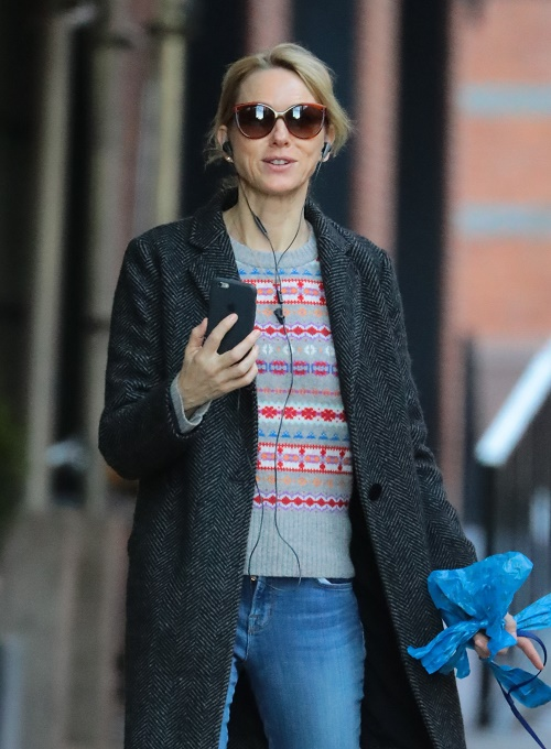 Naomi Watts Doing Well With Liev Schreiber Break-Up: See Happy Dog Photos