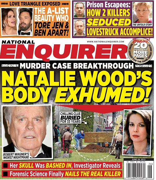Natalie Wood's Body To Be Exhumed After 33 Years: Will Robert Wagner Be Arrested For Her Murder?