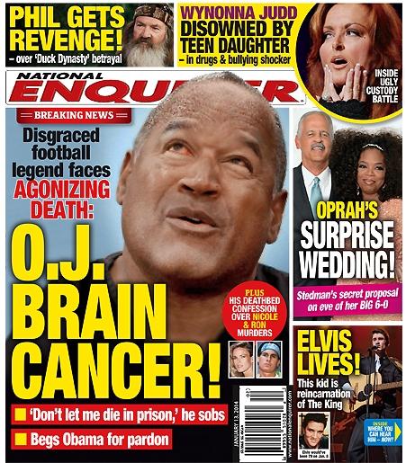 OJ Simpson Battles Fatal Brain Cancer, Faces Agonizing Death (PHOTO)