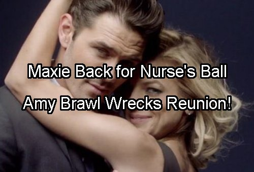 General Hospital Spoilers: Maxie Bullies Amy Over Nathan Crush at Nurse's Ball – Naxie Doomed?