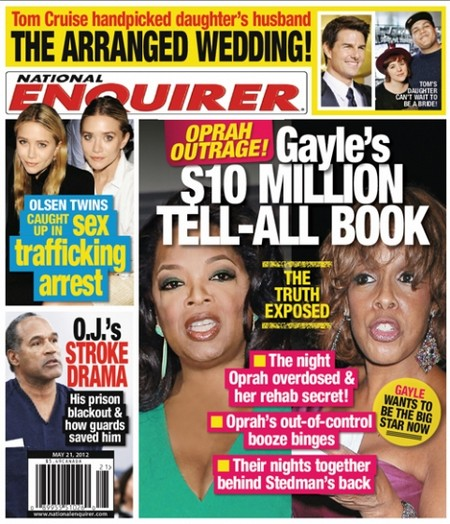 Gayle King Exposes Oprah's Drug Addiction And Their Lesbian Relationship (Photo)