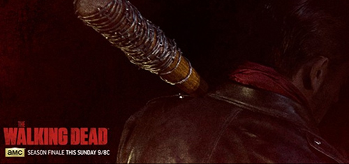The Walking Dead Season 6 Finale Spoilers – Audio of Negan's Monologue As He Kills One of Rick's Group - Screaming Included