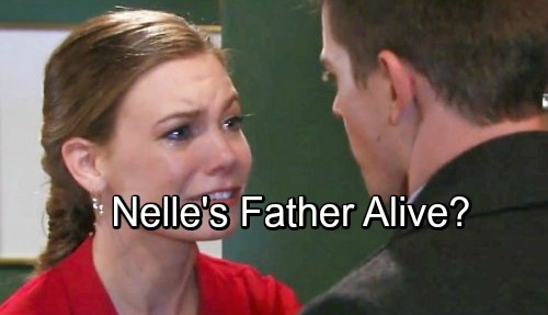 General Hospital Spoilers: Nelle's Father Returns from the Dead – Frank Benson Rocks Nelle and Carly's World?