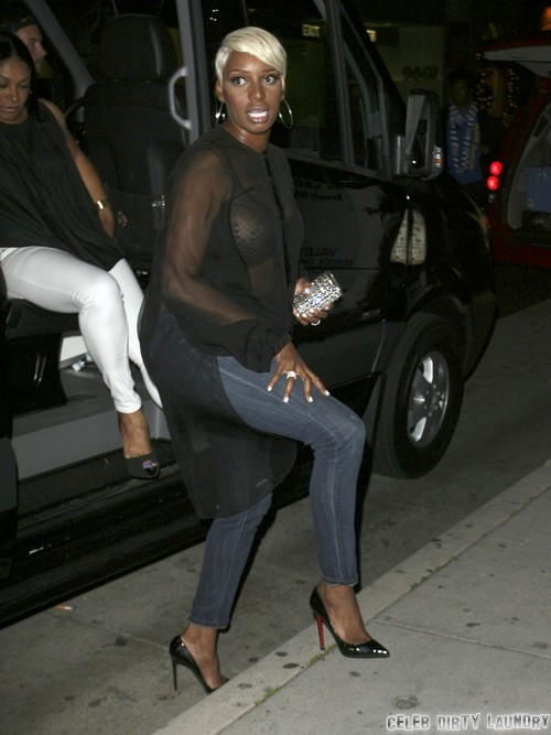 Nene Leakes Goes to Dinner in Hollywood