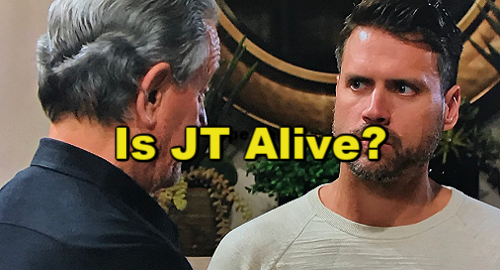 The Young and the Restless Spoilers: Katie's Words Reveal J.T.'s Still Alive - Nick and Victor Suspicion Comes True