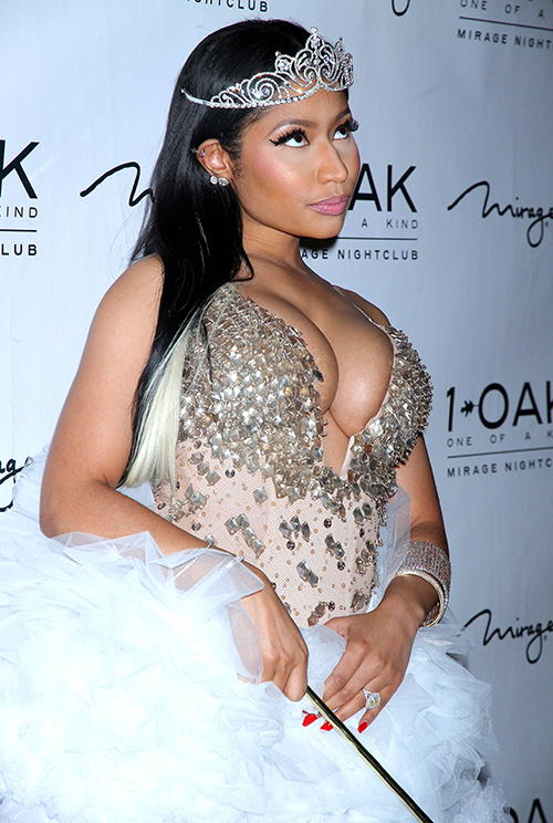 Nicki Minaj Furious After Accusations She Owes Career To Booty Not Talent