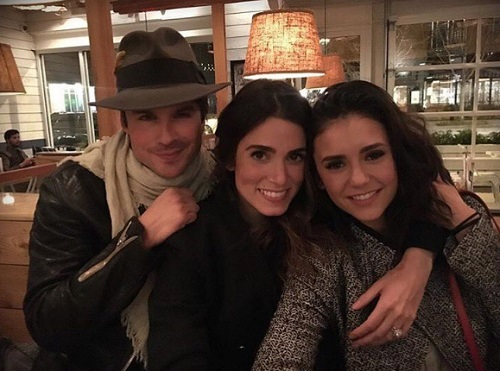 Ian Somerhalder and Pregnant Nikki Reed Reveal Baby Is a Boy?