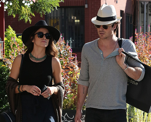 Ian Somerhalder Fed Up With Nikki Reed's Oversexualized 'Sleepy Hollow' Character - Wants Her To Act Motherly!