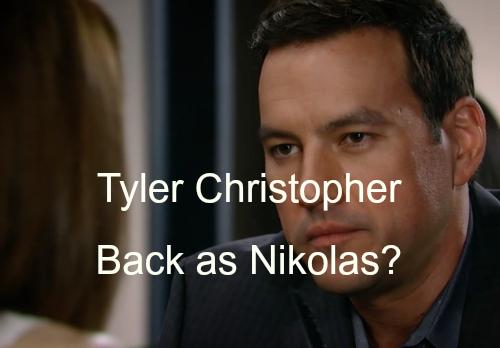 'General Hospital' Spoilers: Tyler Christopher Hints at Return as Nikolas - Already Back on Set Shooting?