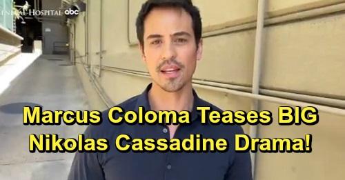 General Hospital Spoilers: Exciting GH Promo – Marcus Coloma Teases Fantastic Nikolas Cassadine Drama, Praises Talented Costars