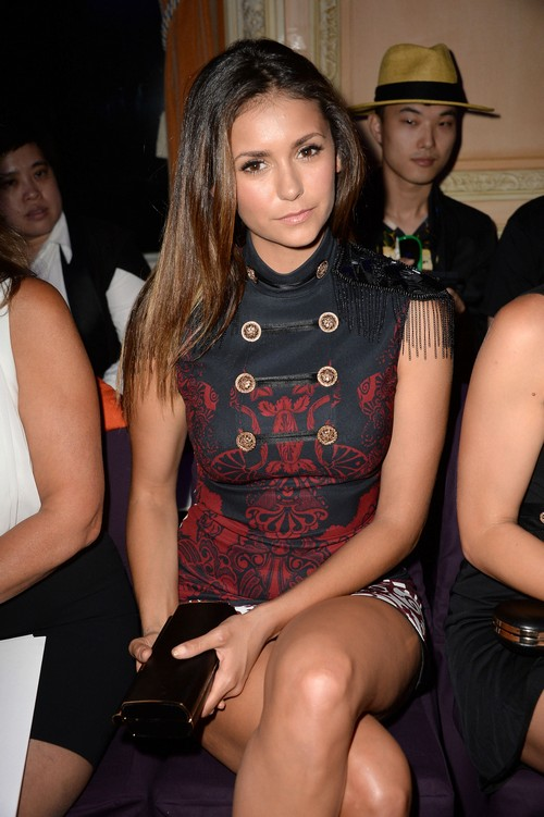 Is Nina Dobrev Pregnant: Possible Baby Bump Pics At Paris Fashion Week? (PHOTOS)