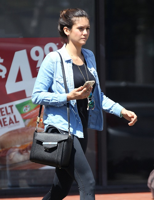 Nina Dobrev Refuses To Work With Ian Somerhalder On The Vampire Diaries: Celebrity Friends Promote Star For Movie Roles