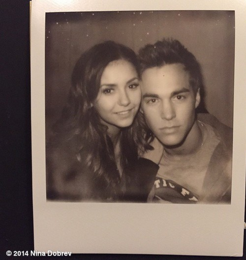Chris wood and nina dobrev dating life