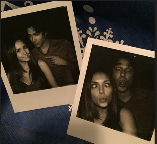 Nina Dobrev Allowed To Quit The Vampire Diaries Just Before Nikki Reed and Ian Somerhalder Wedding - Arranged?