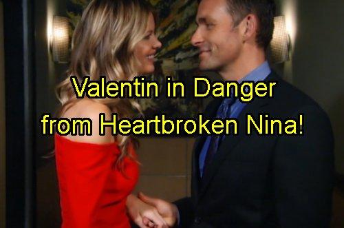 'General Hospital' Spoilers: Valentin In Danger When Lulu-Charlotte Reveal Drives Nina Over the Edge