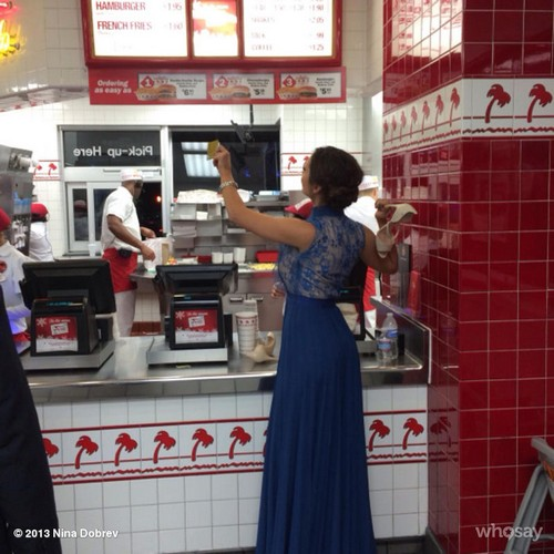 """Nina Dobrev Gets The Munchies In Hollywood After Late Night Awards Show - """"Junkies Getting Our Fix"""" (PHOTOS)"""