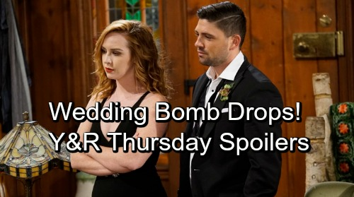 The Young and the Restless Spoilers: Thursday, October 4 – Noah Shows Up For Wedding Shocker – Mariah Battles Summer