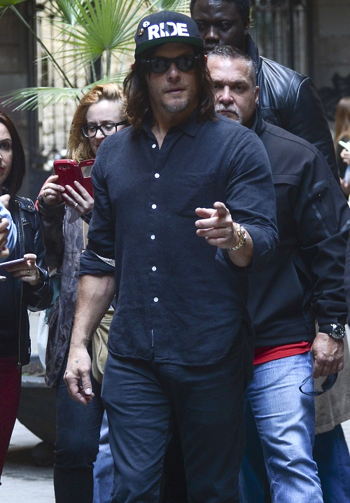Diane Kruger And Norman Reedus' Romance Heats Up In Barcelona