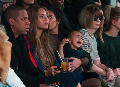 North West Tantrum at Kanye West's Fashion Show: Kim Kardashian Dissed Over Crying Baby by Magazine Editor