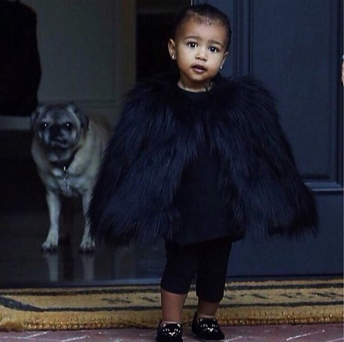 Kim Kardashian and North West Apology from Kanye West: Nori's $62,000 Tiara Christmas Gift - Divorce Still On
