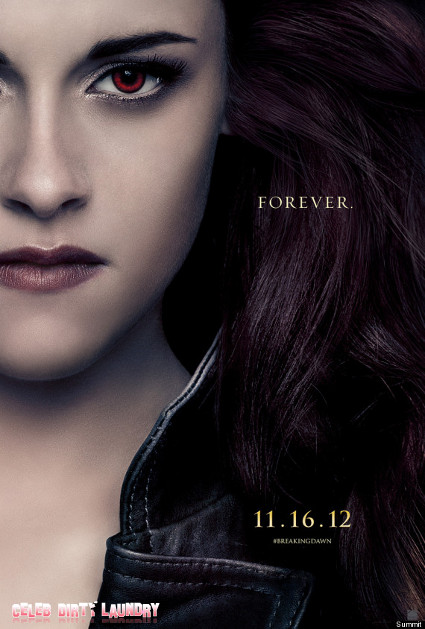Bloody Wonderful New Character Posters For 'Twilight Breaking Dawn Part 2' (PHOTOS)