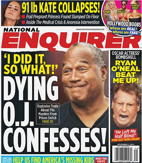 OJ Simpson Deathbed Confession: Admitted Murdering Nicole Brown Simpson to Prison Snitch (PHOTO)