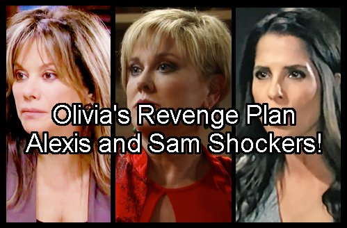 General Hospital Spoilers: Olivia Jerome Creeps Into Sam and Alexis Lives With Shocking Outcomes