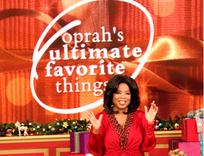 Oprah's Gifts To be Re-gifted