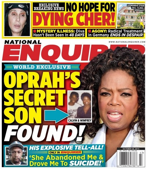 Oprah Winfrey's 'Secret' Son Calvin Mitchell Claims Abandoned and Shunned by Talk Show Host?