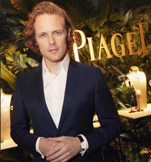 Sam Heughan's Relationship With MacKenzie Mauzy A Publicity Stunt?