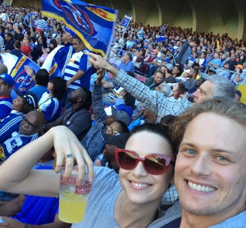 Outlanders' Sam Heughan and Caitriona Balfe Caught Dating: Showmance