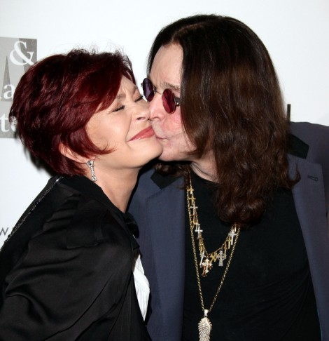 Ozzy Osbourne And Sharon Osbourne Rekindle Romance On Beverly Hills Lunch Date! 0519