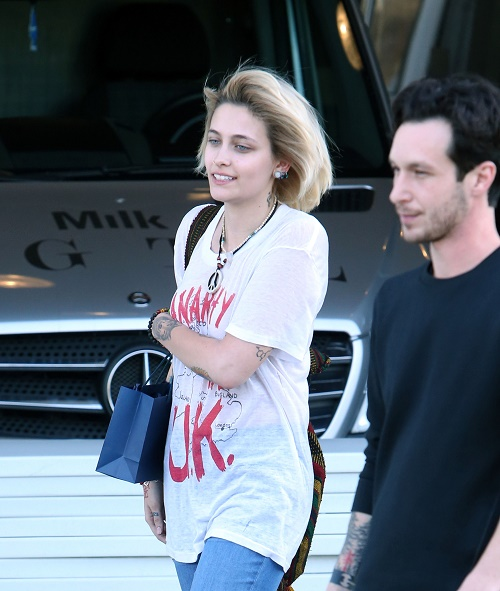 Paris Jackson Moves On To New Boyfriend - Spotted Kissing Mystery Man In Los Angeles