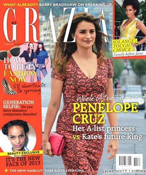 Kate Middleton's Royal Son Versus Penelope Cruz's A-List Daughter: Who Is The Better Baby?