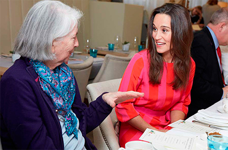 Pippa Middleton Steals Kate Middleton's Philanthropical Spotlight: Gives Surprise Talk At Charing Cross Heart Support Group