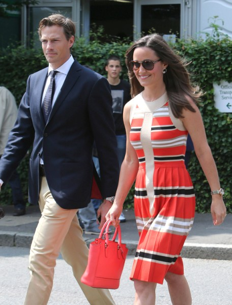 Pippa Middleton Acting Out In Public Because Kate Middleton Won't Let Her Announce Engagement? 0707