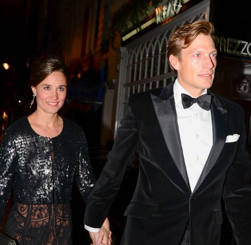 Pippa Middleton and Nico Jackson Engaged to be Married - Report
