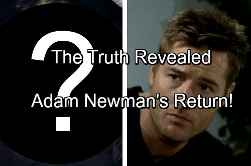 The Young and the Restless Spoilers: Adam Newman's Return - What Mal Young Really Implied