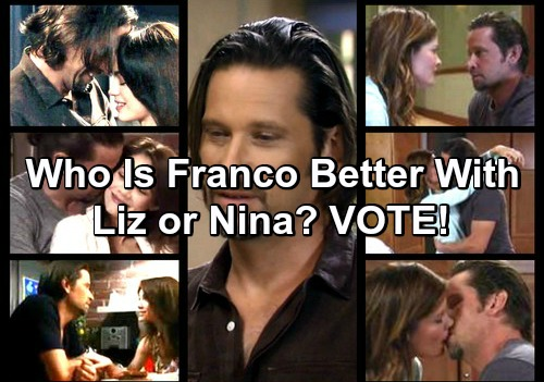 General Hospital Spoilers: Who Is Franco Better With, Liz or Nina?