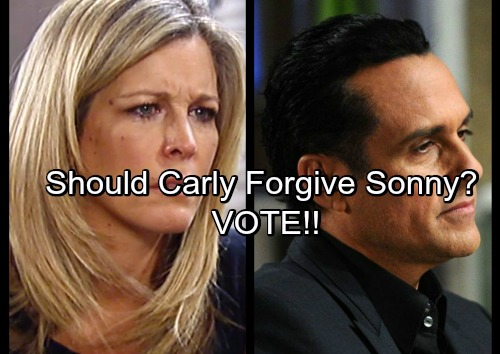 General Hospital Spoilers: Is Carly Being Too Hard on Sonny - Mobster Deserves Forgiveness?