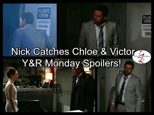 The Young and the Restless Spoilers: Monday, April 10 - Nick Overhears Chloe Threaten Victor, Learns The Moustache Framed Adam
